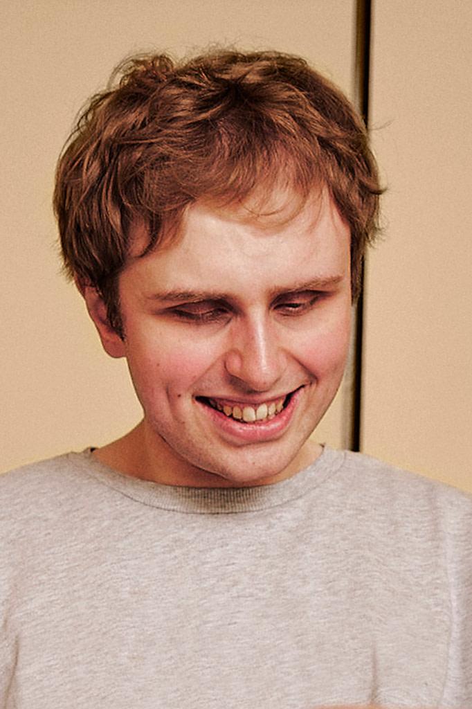 Vision impaired Crdl user smiling